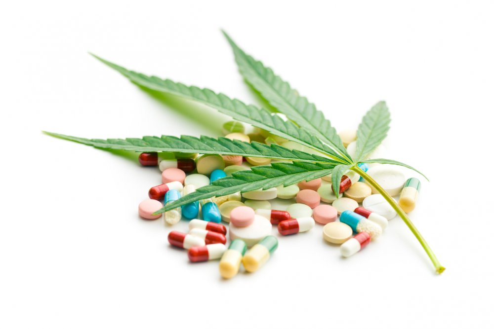 Cannabis Tabletten bunt